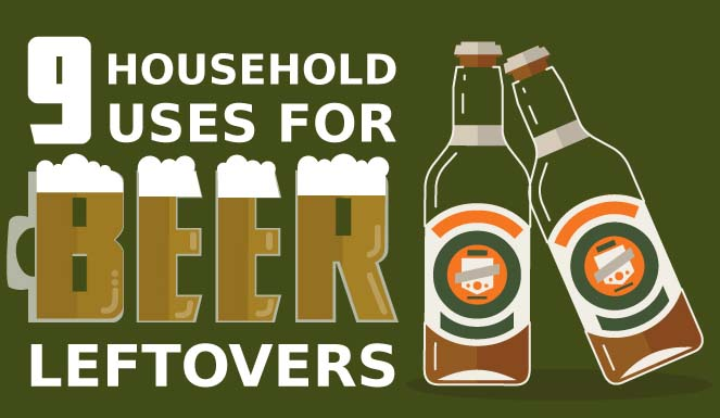 9 Household Uses for Beer Leftovers