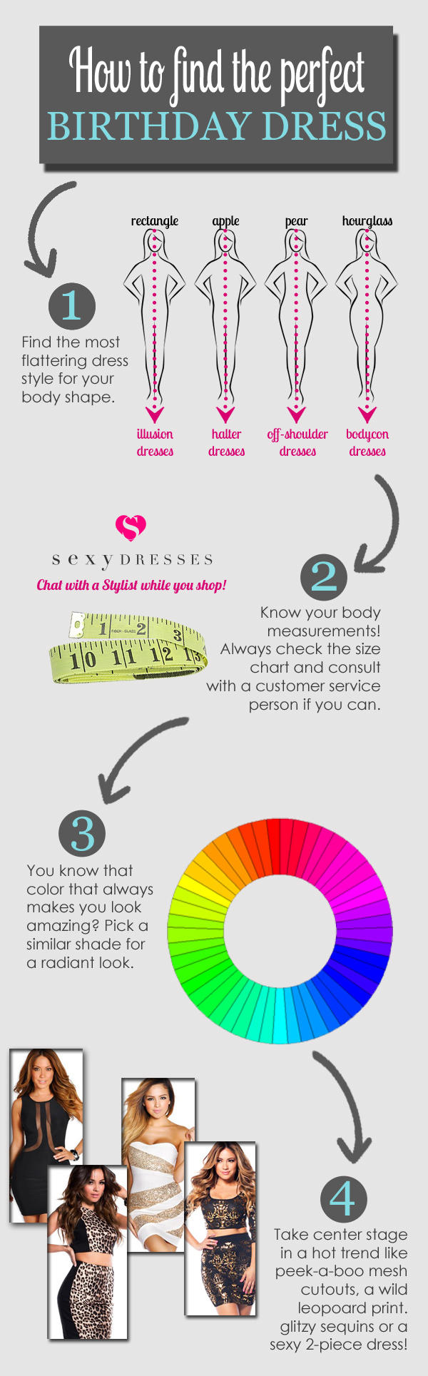 How to Find Your Perfect Birthday Dress