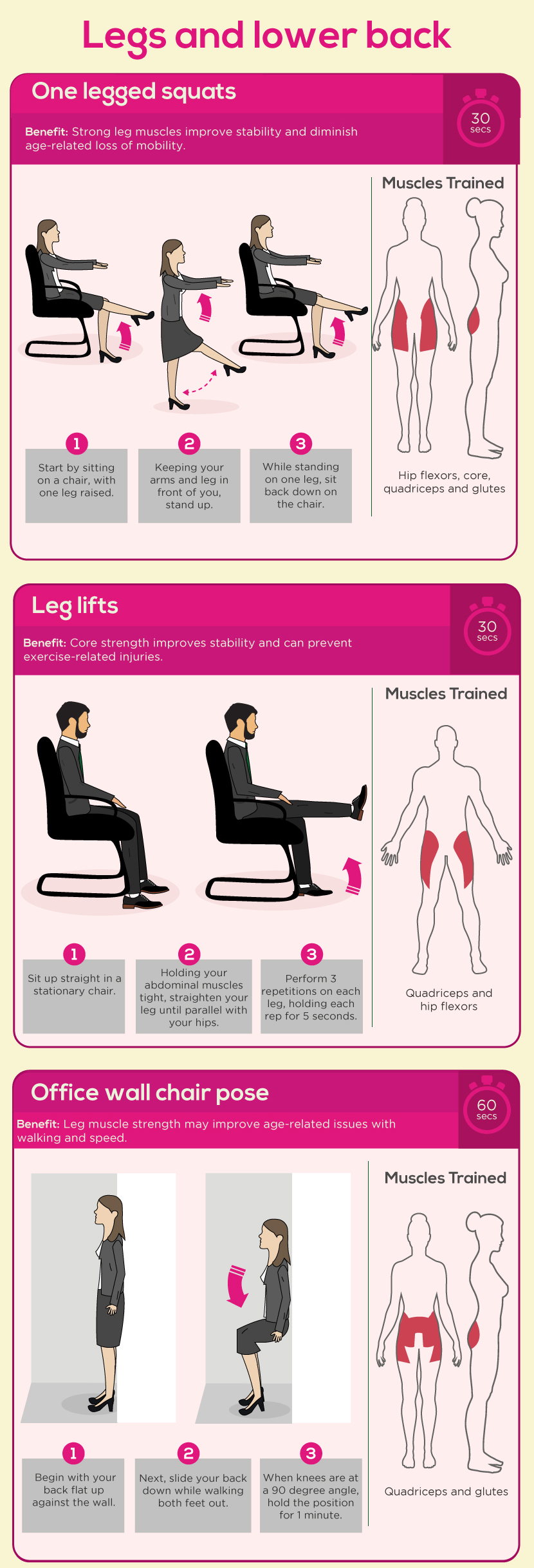 The 5 Minute Office Work Out