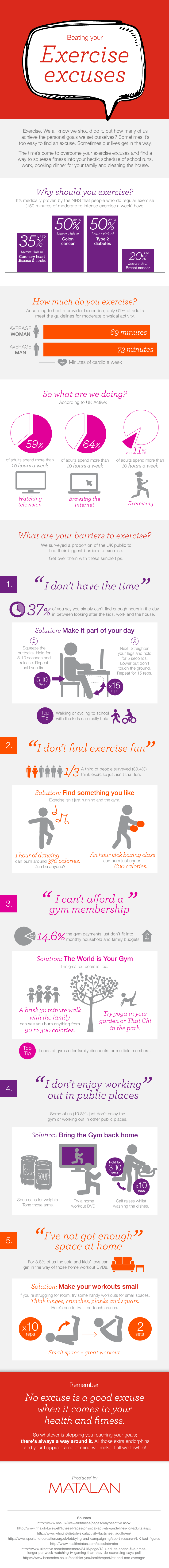 Beating Your Exercise Excuses