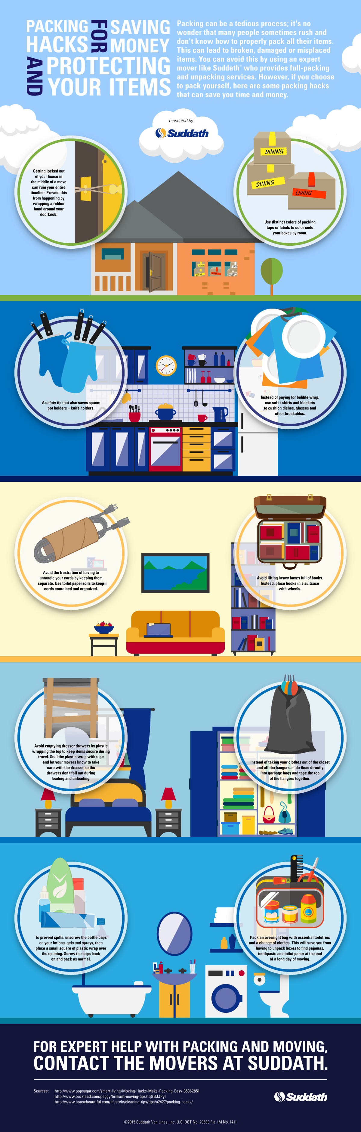 Packing Hacks for Saving Money and Protecting Your Items