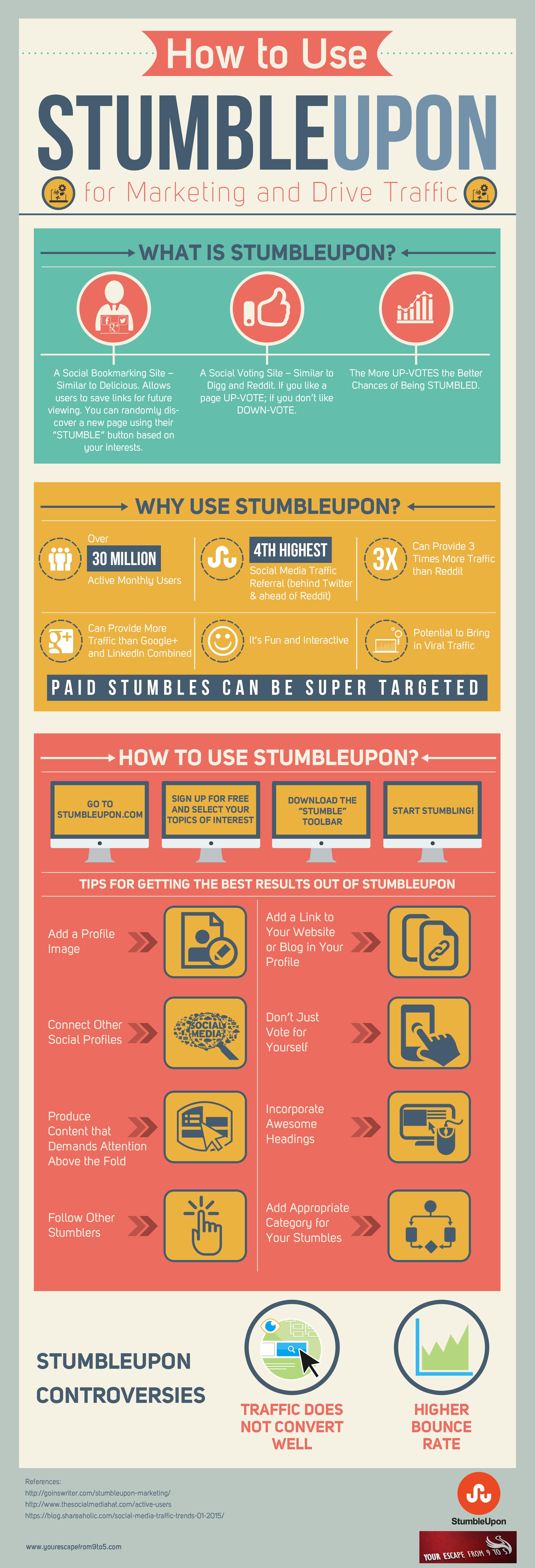 Why Use StumbleUpon: The Social Media Underdog
