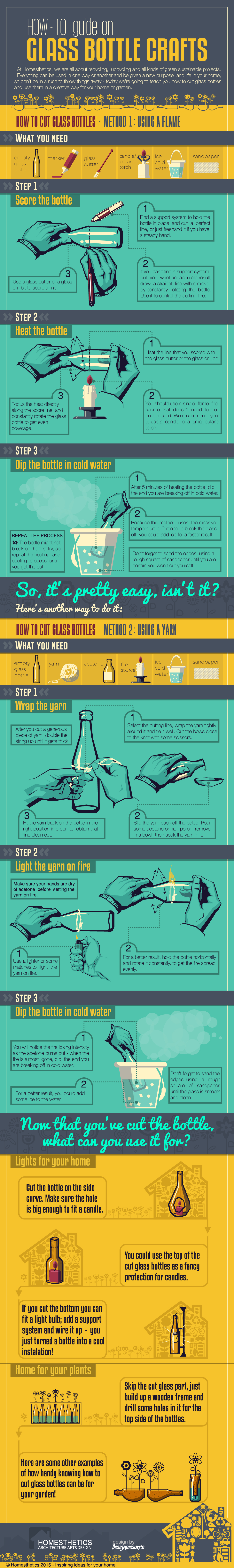 How-To Guide on Glass Bottle Crafts
