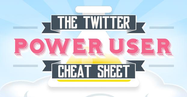 The Twitter Power User Cheat Sheet
