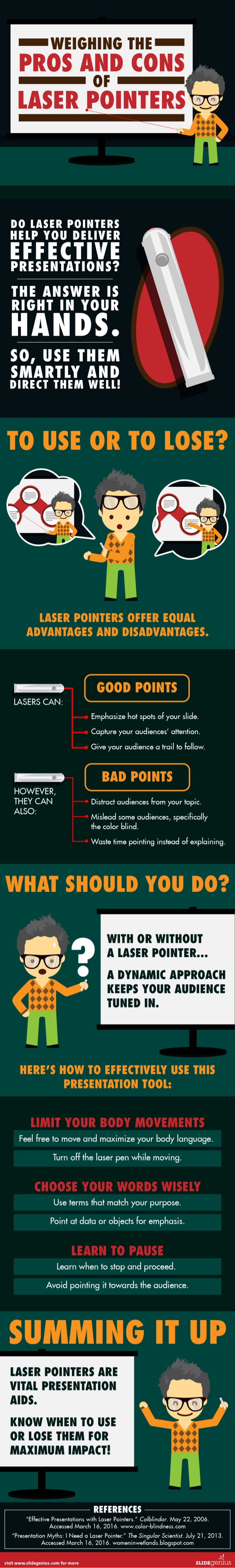 Using Laser Pointers for Effective PowerPoint Presentations