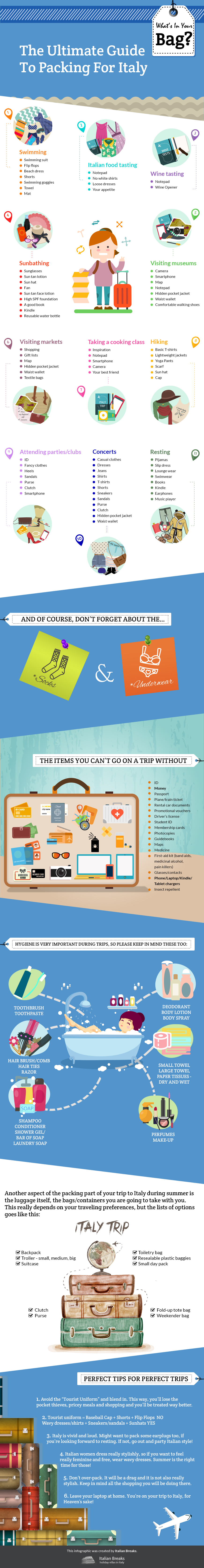 The Ultimate Guide to Packing for Italy