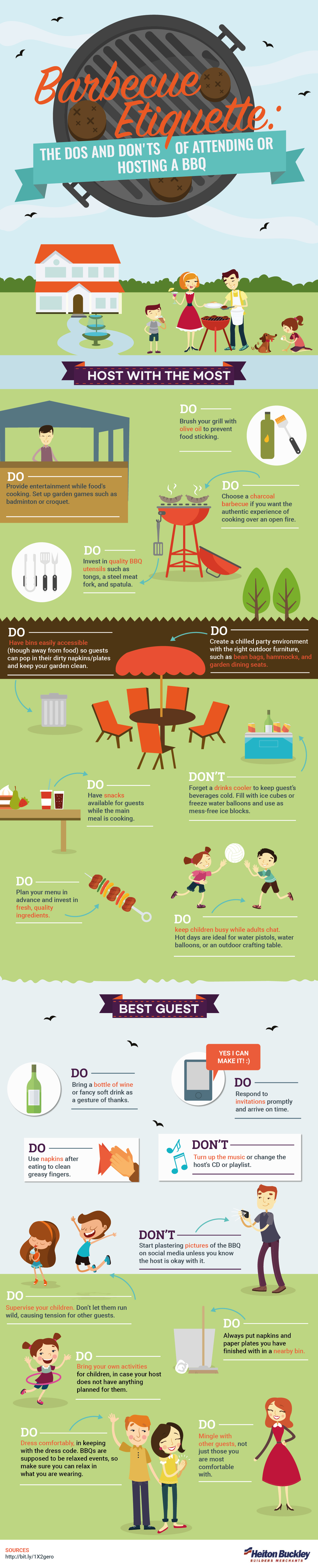 BBQ Etiquette: The Dos & Don'ts