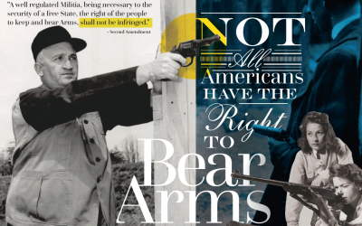 Not All Americans Have The Right To Bear Arms