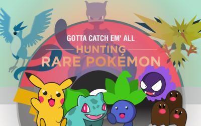 Hunting Rare Pokemon