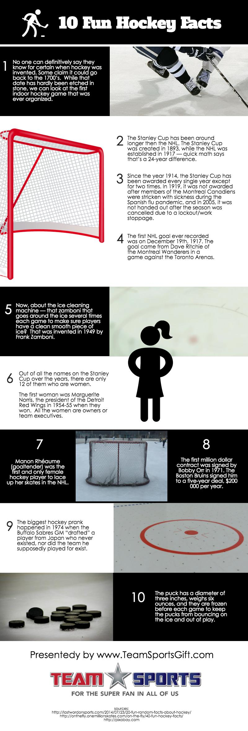10 Fun Hockey Facts