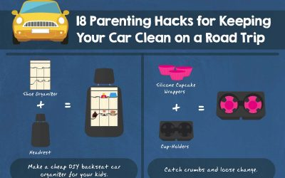 18 Parenting Hacks for Keeping Your Car Clean on a Road Trip