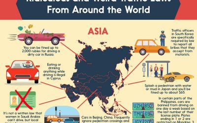 Ridiculous and Weird Traffic Laws From Around the World