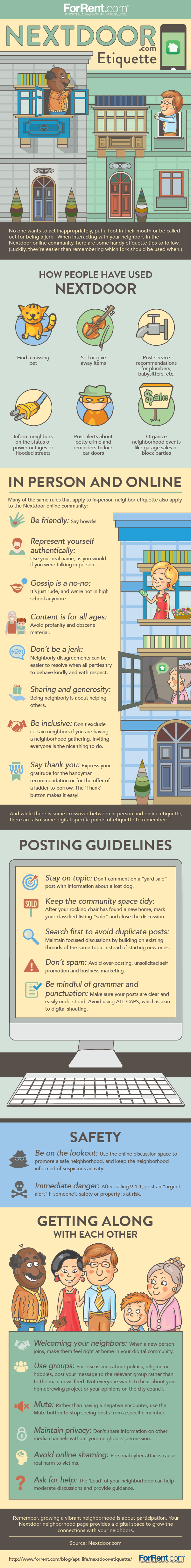 Etiquette Tips for Using NextDoor