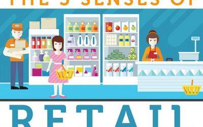 Visual Merchandising & the 5 Senses of Retail