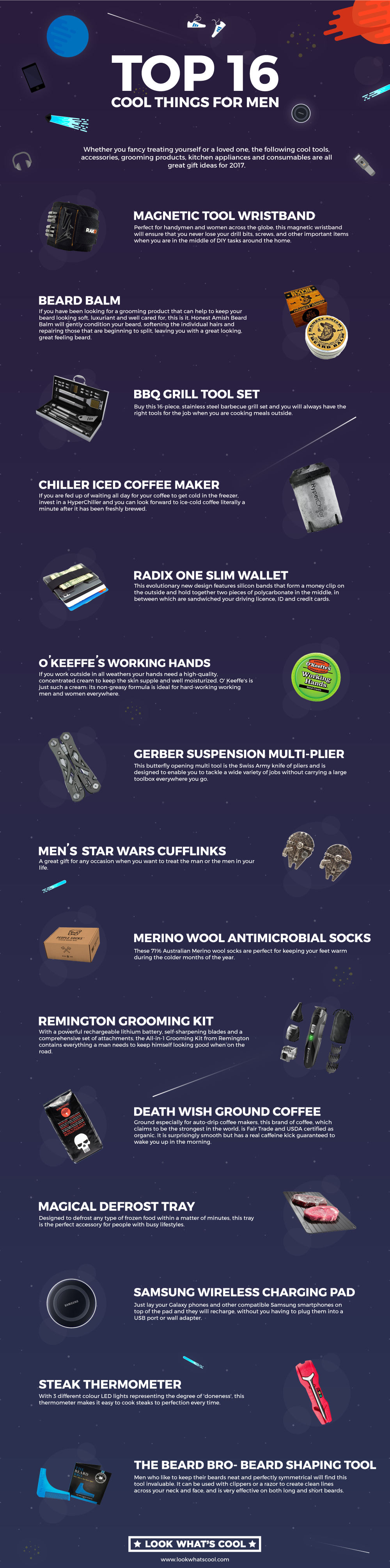 Top 16 Cool Things for Men