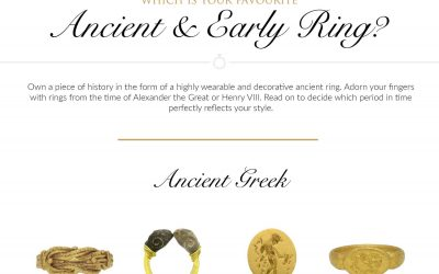 Which Is Your Favorite Ancient and Early Ring?