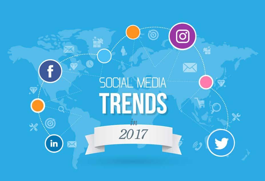 Social Media Trends in 2017 [Infographic]
