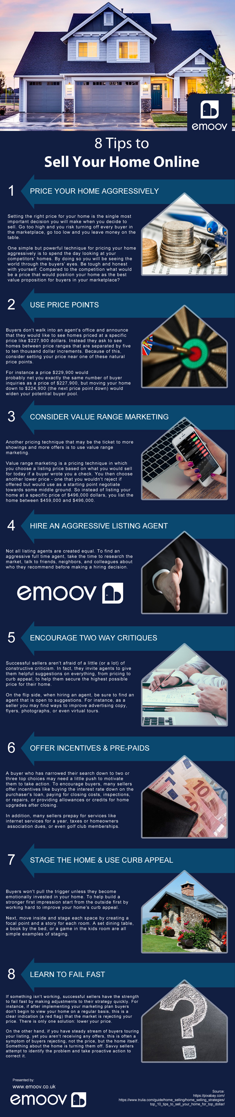 8 Tips to Sell Your Home Online