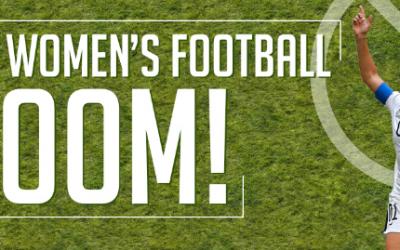 The Women's Football BOOM!