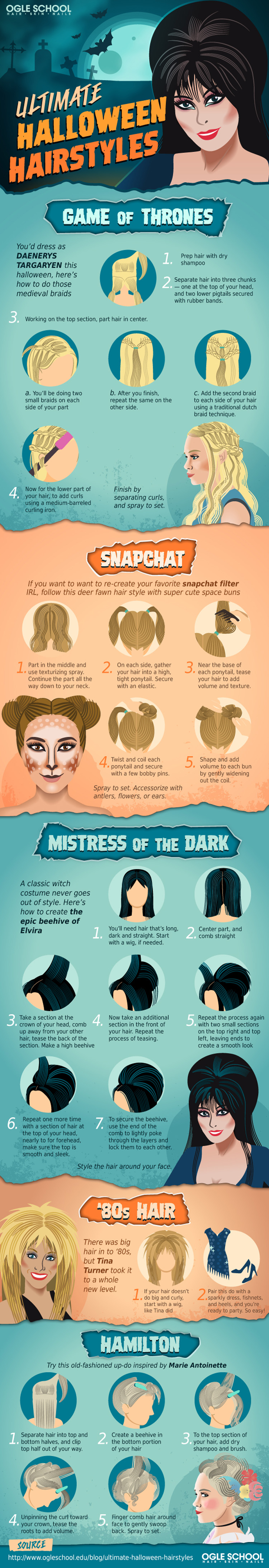 From Braids to Beehives: Ultimate Halloween Hairstyles