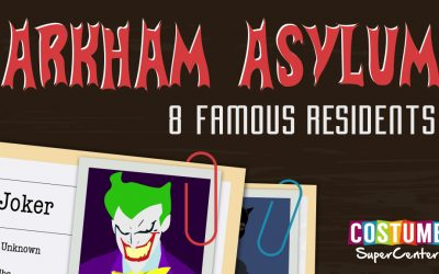 Famous Residents Of Arkham Assylum