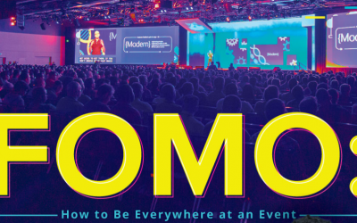 FOMO: How To Be Everywhere At An Event