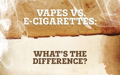 Vapes vs. E-cigarettes: What's the Difference?
