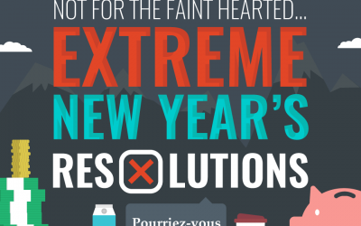Extreme New Years Resolutions 2018