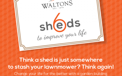 6 Sheds to Improve Your Life
