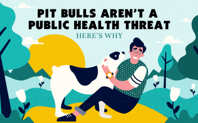 Pit Bulls Aren't A Public Health Threat & Here's Why