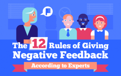 The 12 Rules of Giving Negative Feedback
