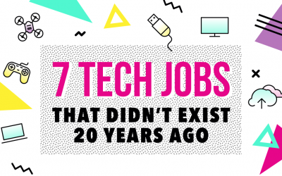 7 Tech Jobs that Didn't Exit 20 Years Ago