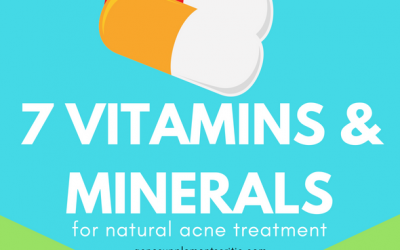 7 Best Vitamins and Minerals for Acne Treatment Naturally