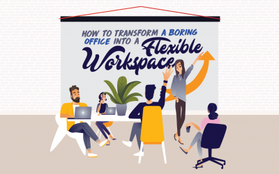 How to Transform a Boring Office Into a Flexible Workspace