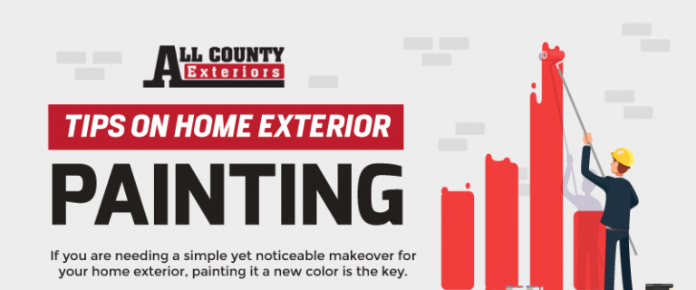 Tips on home exterior painting infographic - Tips on painting exterior of house ...