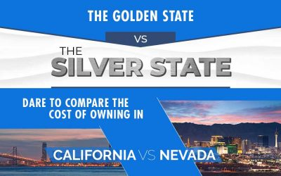 Silver vs Gold: Comparing The Cost of Living in Nevada to California