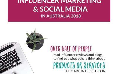 Influencer Marketing and Social Media in Australia 2018