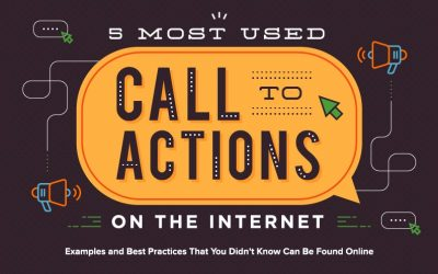 The 5 Most Used Call-to-Action Designs on the Internet