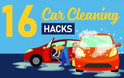 16 Car Cleaning Hacks