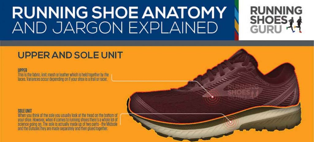 Anatomy of a Running Shoe [Infographic]