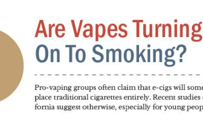 E-Cigs May Turn Teens On To Smoking