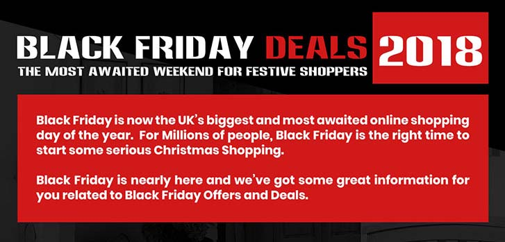 Black Friday Deals 2018 – The Most Awaited Weekend For Festive Shoppers