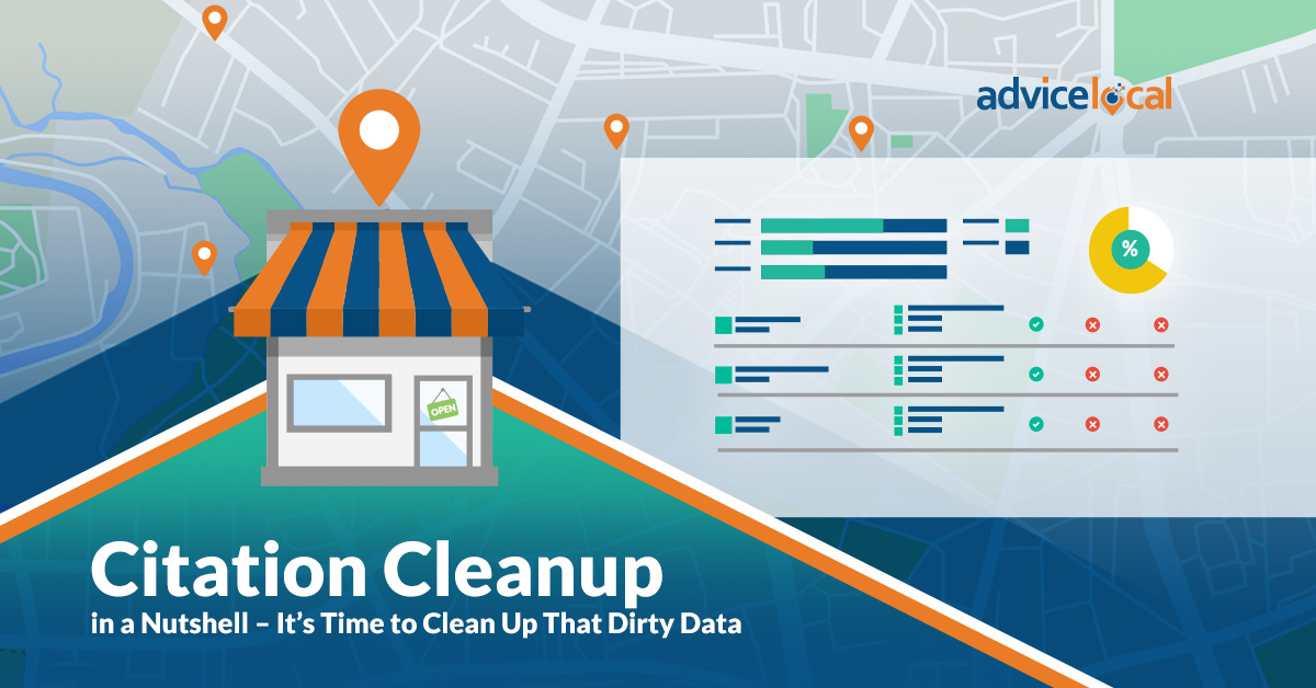 Citation Cleanup – It's Time to Clean Up That Dirty Data