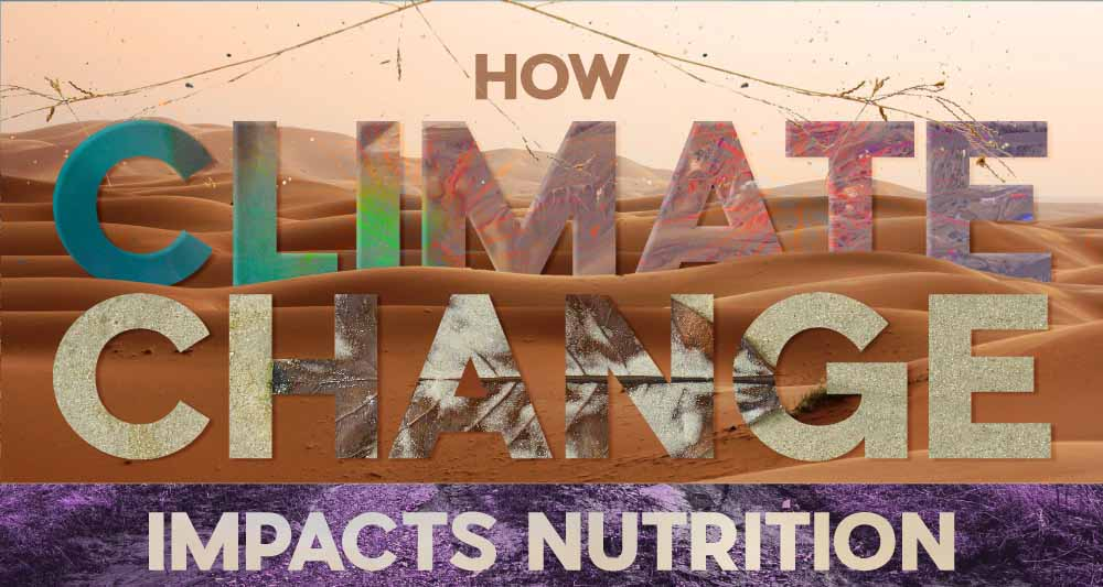 How Climate Change Impacts Nutrition