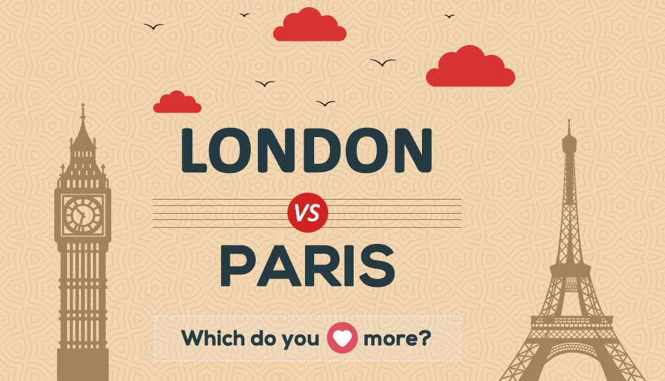 London Vs Paris: Who Do You Love More?