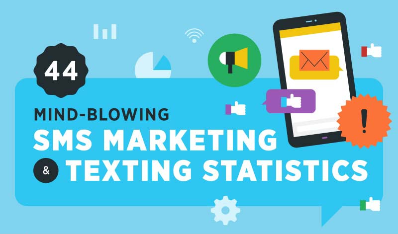 44 Mind Blowing SMS Marketing & Text Messaging Statistics