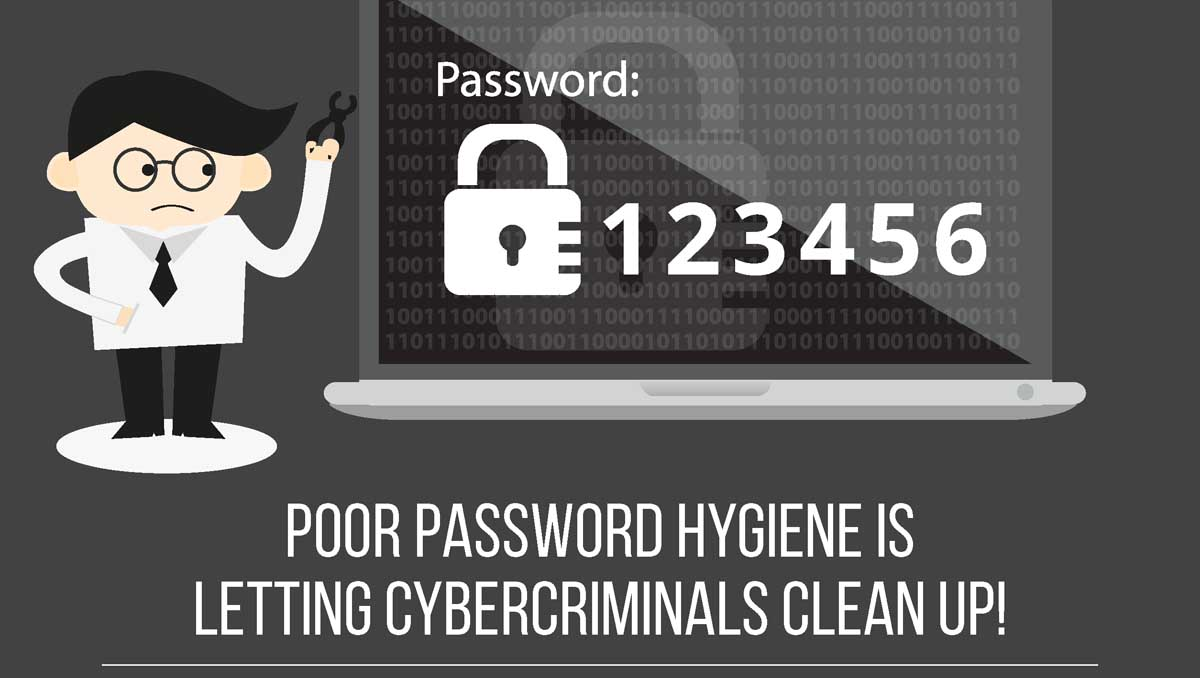 How Poor Password Hygiene is Letting Cybercriminals Clean Up