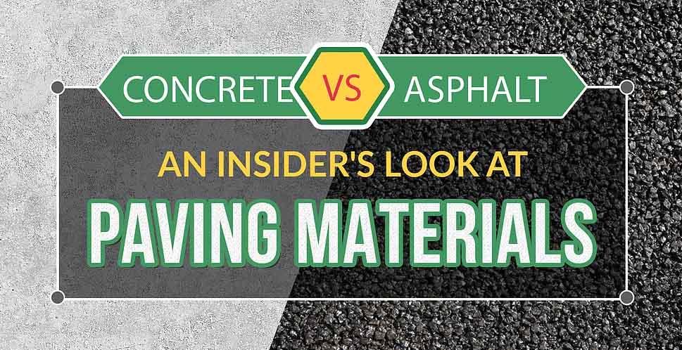 Concrete v. Asphalt: An Insider's Look at Paving Materials