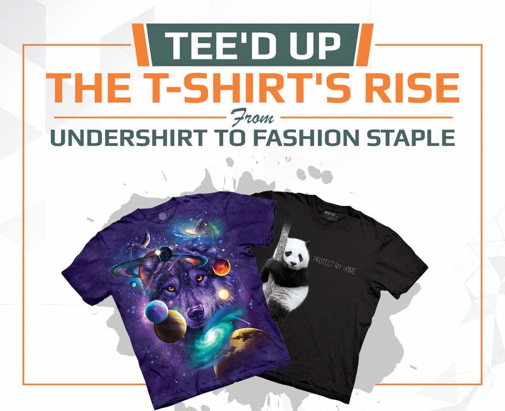 Tee'd Up: The T-Shirt's Rise From Undershirt to Fashion