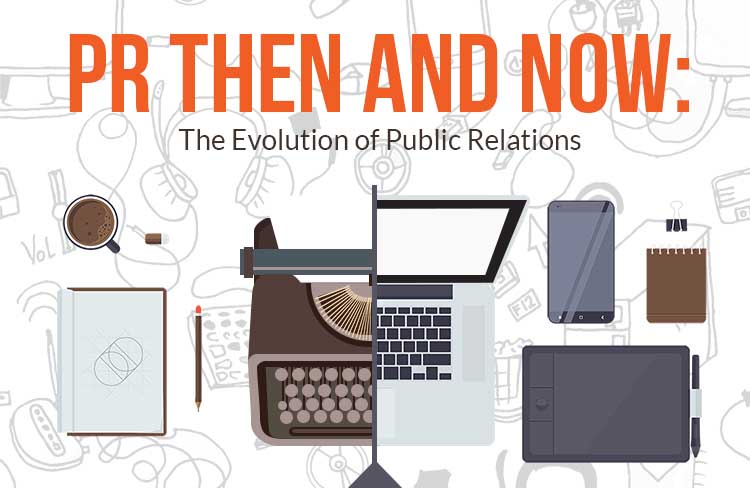 PR Then and Now: The Evolution of Public Relations